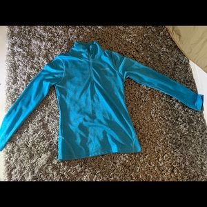EUC New Balance Fitted Half Zip.